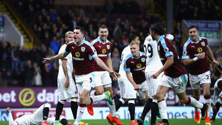 Burnley's Michael Keane could make his England debut against Spain on Tuesday