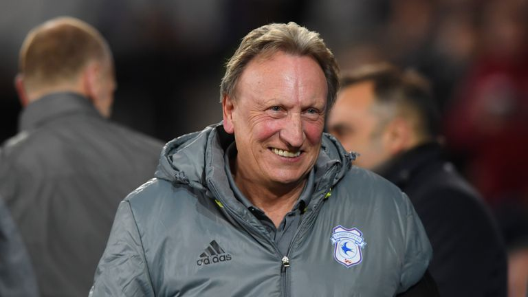 Neil Warnock tasted his first defeat as Cardiff boss against Wigan