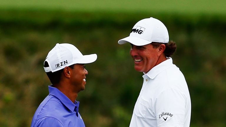 Phil Mickelson says Tiger Woods should only return to competitive golf when he feels ready to do so