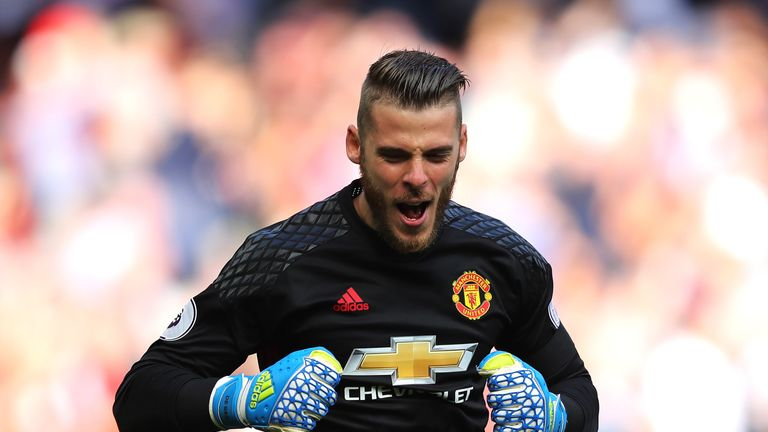 David de Gea was rested for the FA Cup fifth-round tie against Blackburn