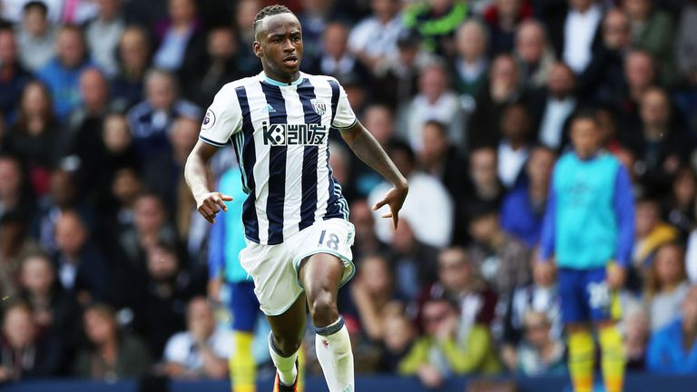 West Brom forward Saido Berahino is the subject of a bid from Stoke City