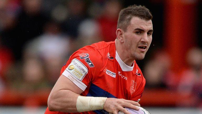 Adam Walker signed for St Helens from Hull KR