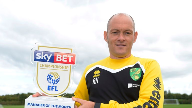 Alex Neil's Norwich won four out of five games in September