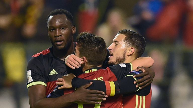 Belgium are looking for a third win in three group games