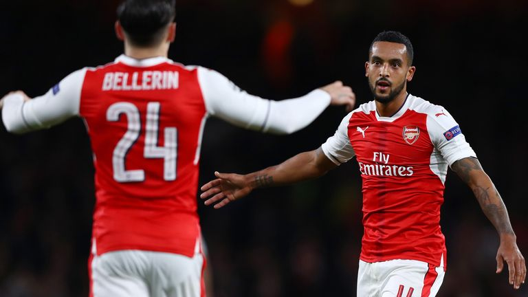 Bellerin has formed an effective partnership with Theo Walcott on Arsenal's right