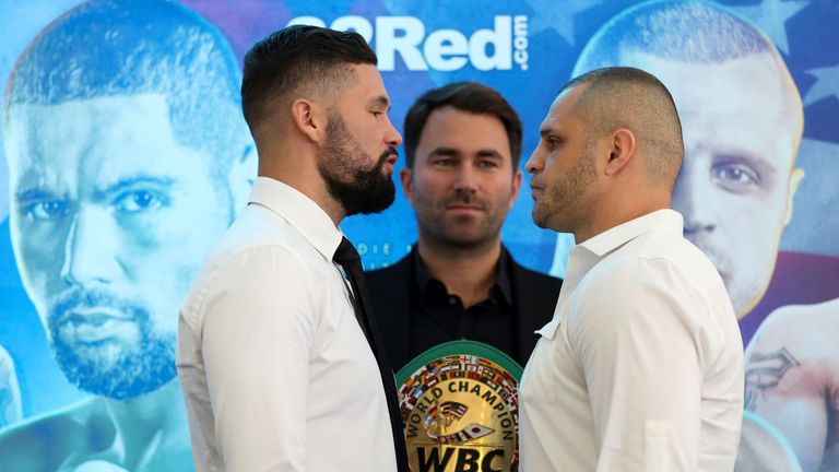 Tony Bellew makes the first defence of his world title