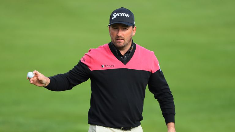 Graeme McDowell is close to dropping out of the world's top 100