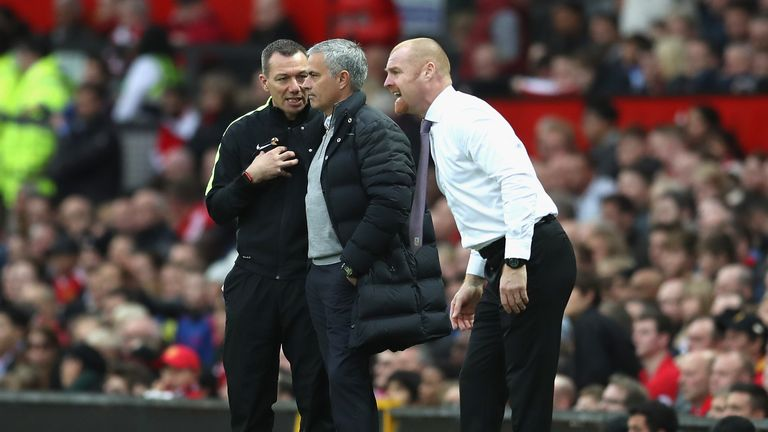 Dyche believes Manchester United are still 'onto something' under Mourinho