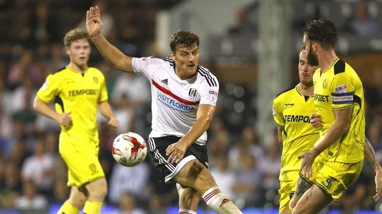 Chris Martin: On target for Fulham