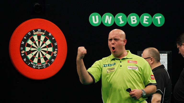 Michael van Gerwen will be aiming to land his fourth European Championship title this weekend