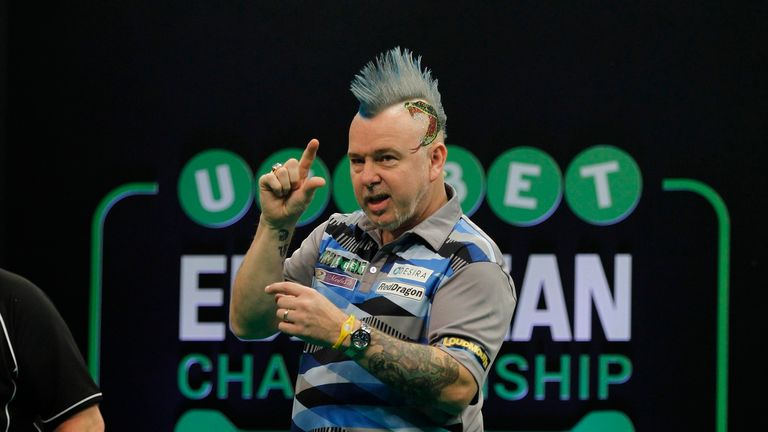 Peter Wright is perhaps the best placed of those yet to win a World Championship