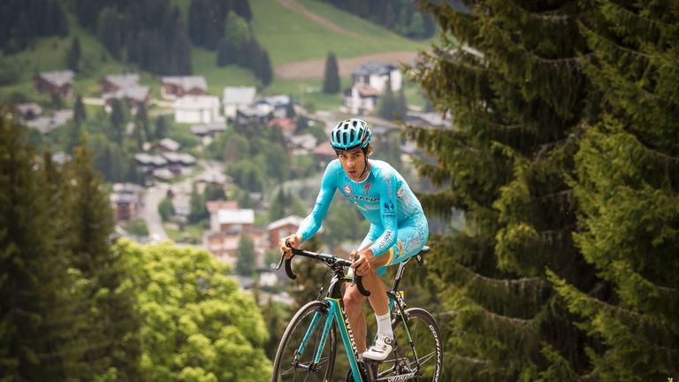 Diego Rosa is an up-and-coming Italian climber