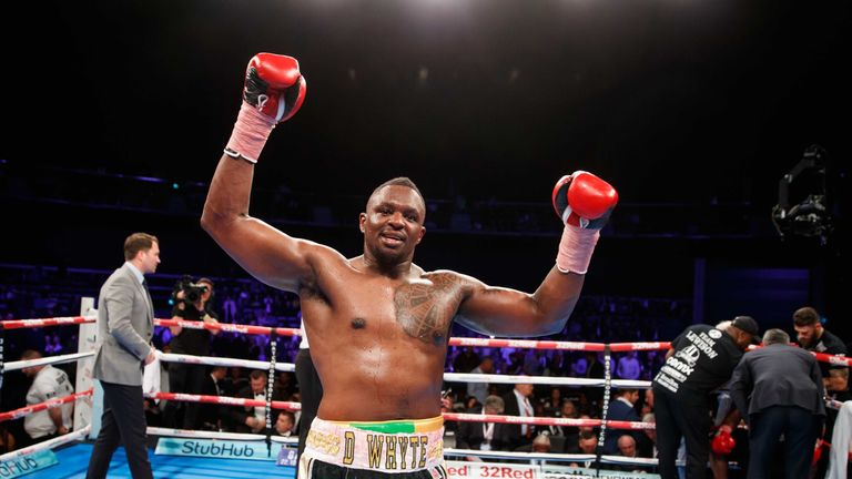 Dillian Whyte defends his British title against Dereck Chisora on December 10