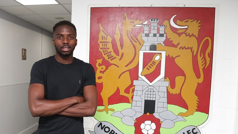Emmanuel Sonupe signing for Northampton in the summer