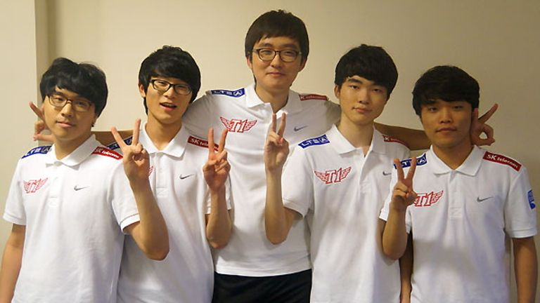 SK Telecom T1 have won League of Legends three times in six years