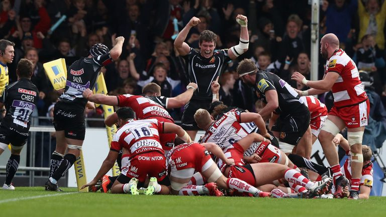 Exeter are in search of a home semi-final, while Gloucester want to secure a play-off spot for next season's Champions Cup