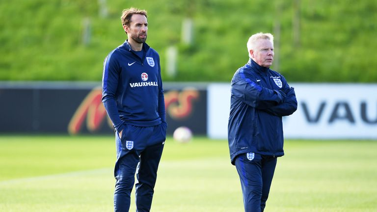 Sammy Lee assisted Gareth Southgate during the new manager's four-game spell as interim boss