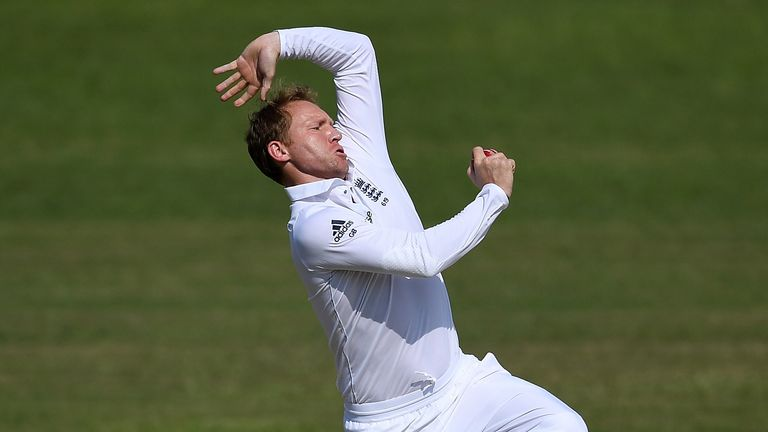Gareth Batty: In line for a recall for the third Test?