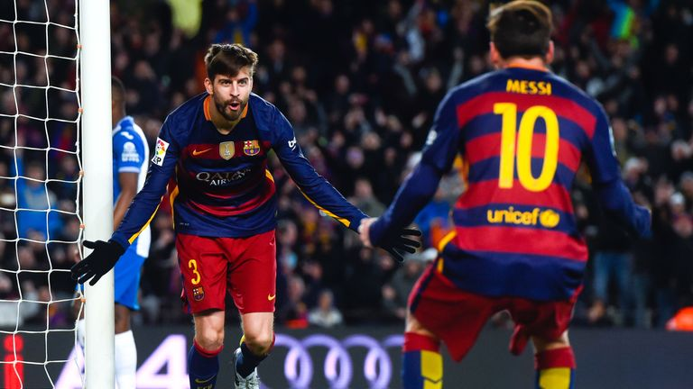 Gerard Pique remains one of the game's best defenders
