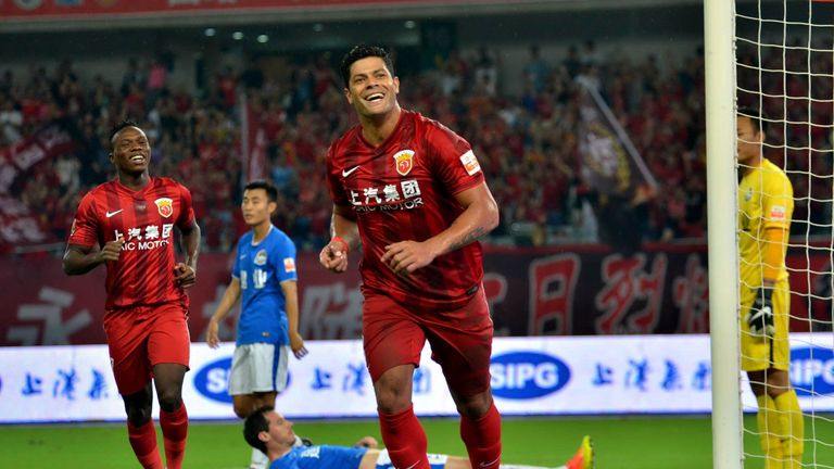 The Brazilian is the most expensive signing in Chinese Super League history