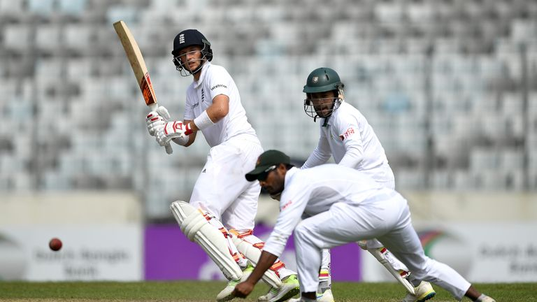Joe Root hit one fifty in the first Test in Chittagong in an otherwise quiet series by his standards