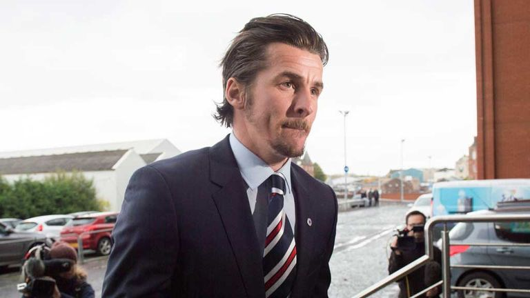 Joey Barton's contract has been terminated