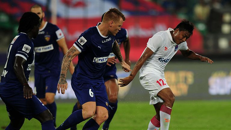 Riise turned out for Delhi Dynamos and Chennaiyin in the Indian Super League