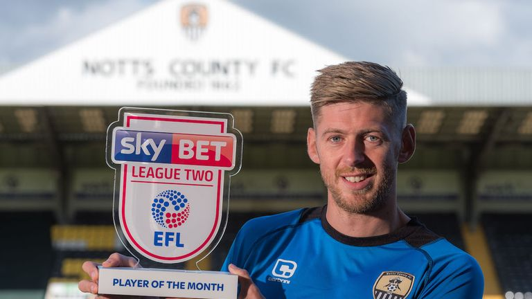 Jon Stead netted five goals in September
