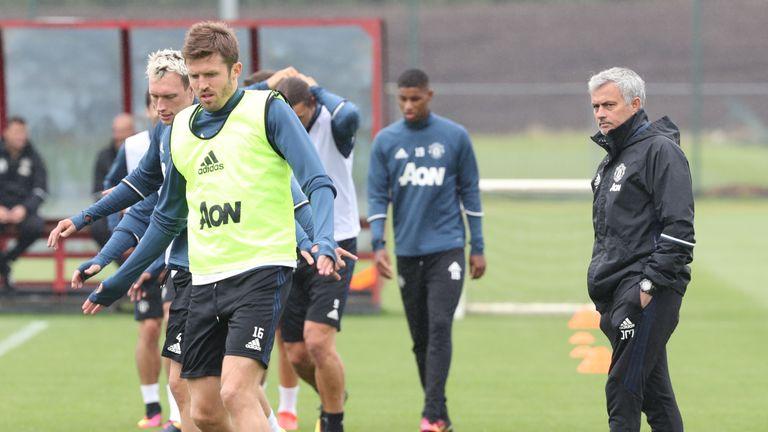 Mourinho has called Carrick 'phenomenal'