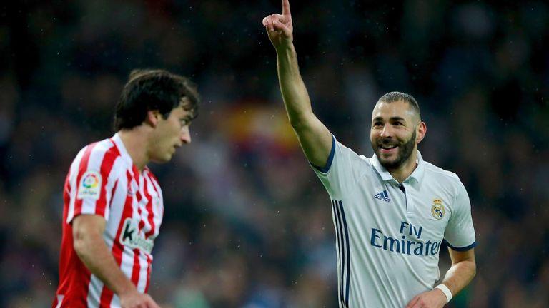 Karim Benzema scored 24 goals in 26 league starts