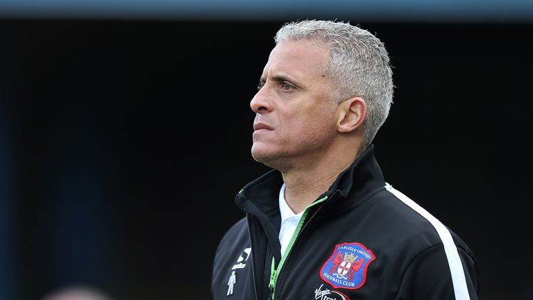 Keith Curle: Carlisle boss needs to make changes up front