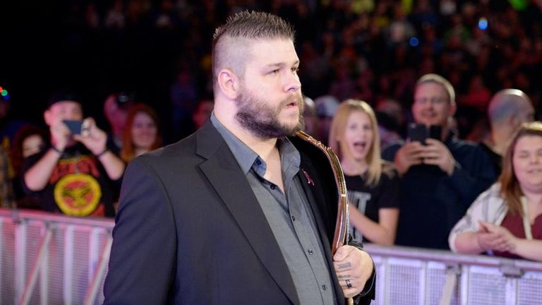 Kevin Owens will wrestle his maiden Hell in a Cell Match on Sunday night