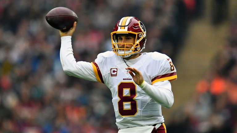 Kirk Cousins dominated the first half but the Redskins couldn't make their chances count