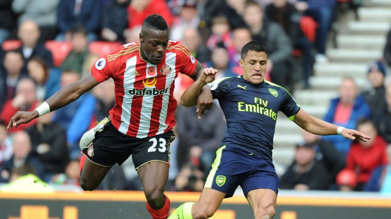 Jamie Carragher criticised the display of Lamine Kone against Arsenal