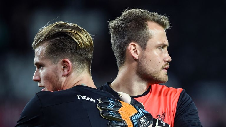 Loris Karius has been battling with Simon Mignolet for the No 1 spot