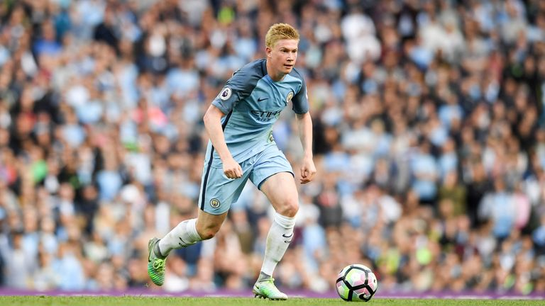 Kevin De Bruyne is out of the Manchester derby