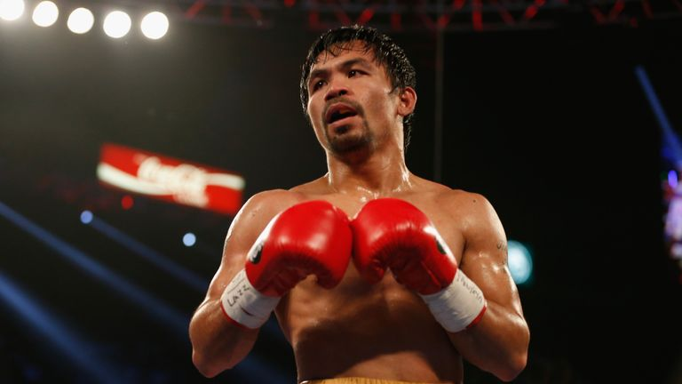 Manny Pacquiao is an eight-division world champion