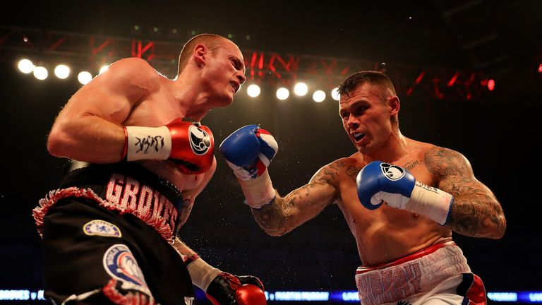 Groves claimed a unanimous decision over four-time world title challenger Martin Murray in the summer