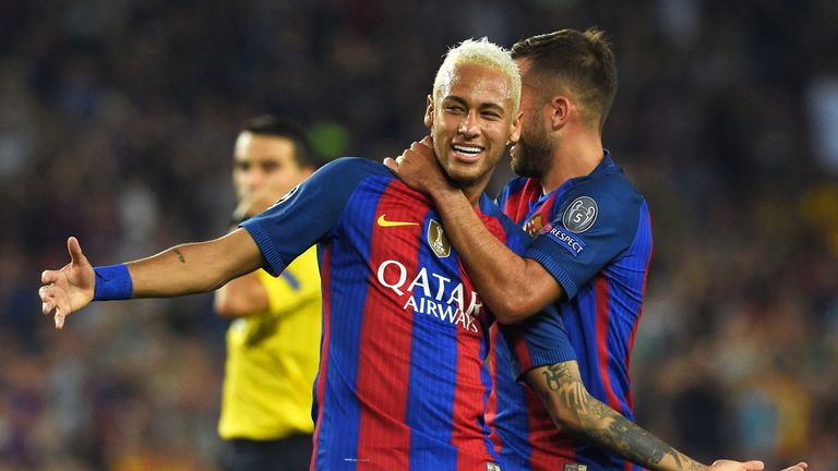 Neymar has extended his contract with Barcelona until 2021