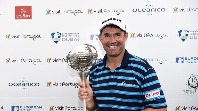 Harrington won his first European Tour event in eight years at the recent Portugal Masters