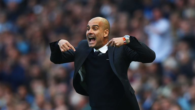 Pep Guardiola says Manchester City's clash with Manchester United on Wednesday night is like a final