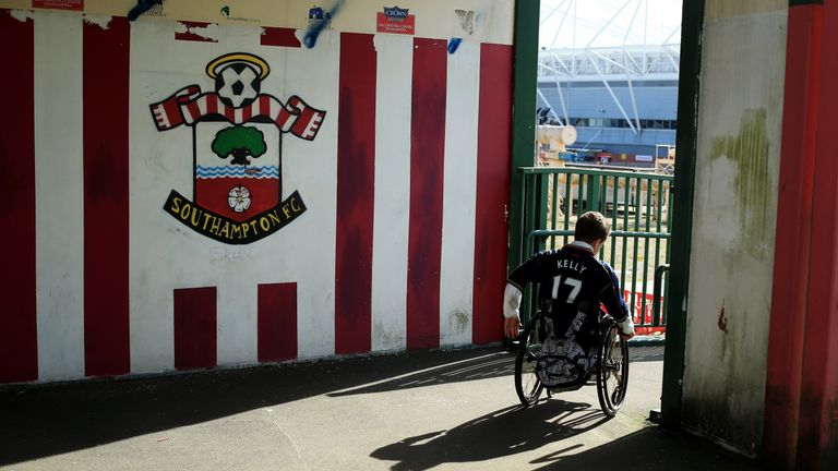 Southampton are one of seven Premier League clubs to provide fully accessible toilet facilities to disabled fans