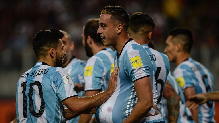 Ramiro Funes Mori bagged his first Argentina goal