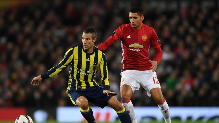 Robin van Persie is fit to play against Manchester United on Thursday