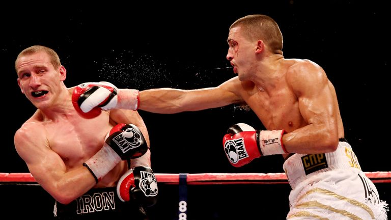 Welshman Selby has lost just once in his professional career to date