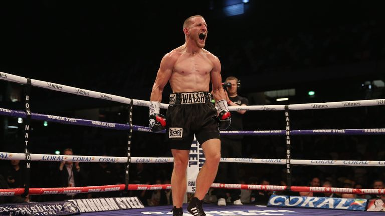 Ryan Walsh will be making the fifth defence of his British title