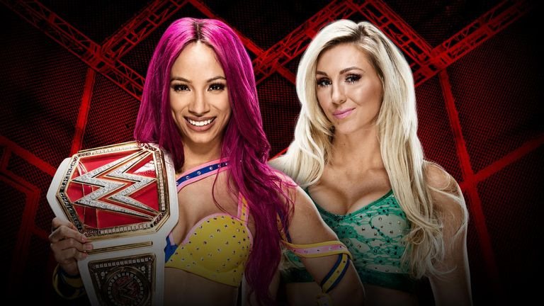 Sasha Banks and Charlotte will contest the first Women's Hell in a Cell Match