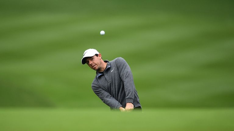 McIlroy finished tied-fourth at last month's WGC-HSBC Champions