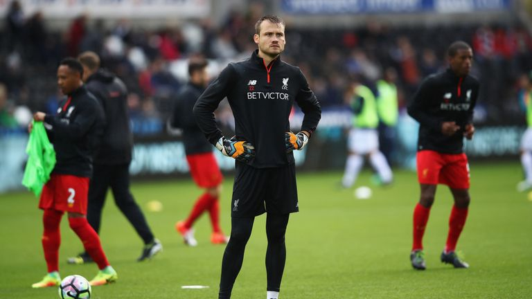 08390c109 Simon Mignolet is keen to regain his starting place in the Liverpool team
