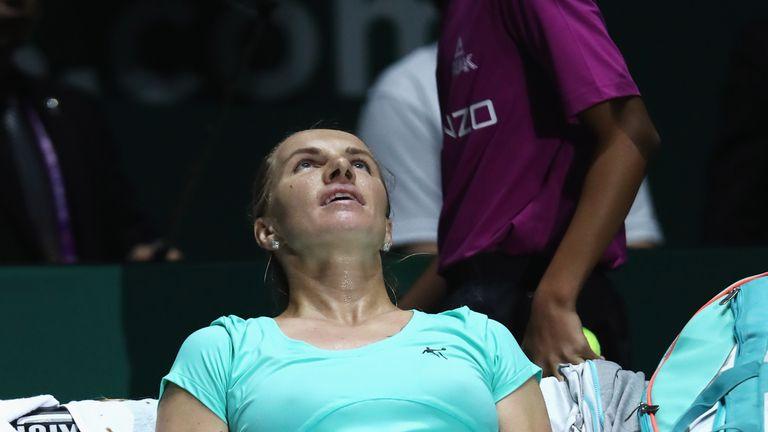 Svetlana Kuznetsova went through the ringer in her win over Agnieszka Radwanska